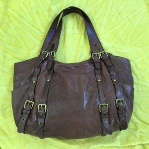Authentic Kooba Paige brown Tote bag large